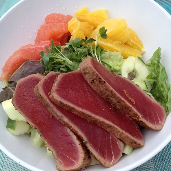 Ahi Tuna Salad - The Cafe - Diplomat Resort & Spa, Hollywood, Hollywood, FL