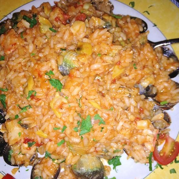 Lobster And Clam Rissoto - Mediterraneo, New York, NY