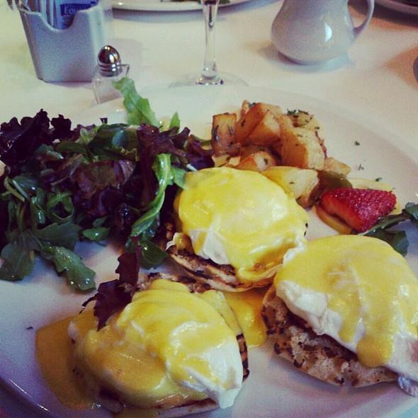 Eggs Benedict - Serafina, New York, NY