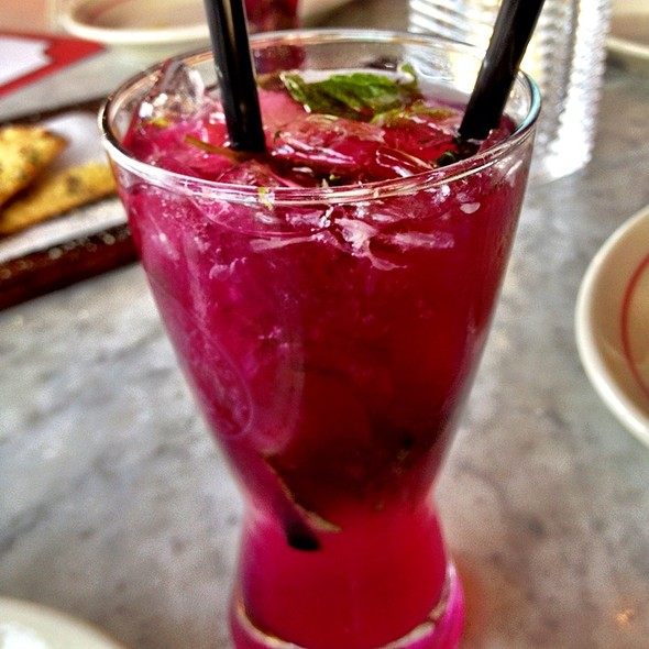 Prickly Pear Mojito - Vic & Angelo's - Delray Beach, Delray Beach, FL