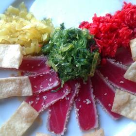 Sesame Seared Blue Fin Tuna - Splash Seafood Bar and Grill, Des Moines, IA