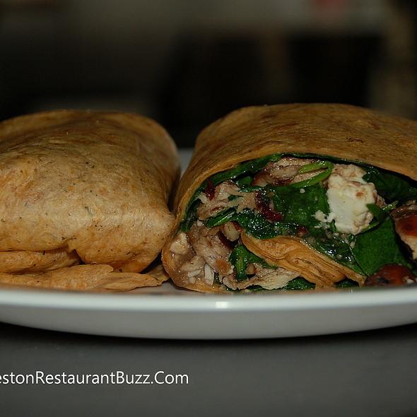 chicken wrap - Eli's Table, Charleston, SC
