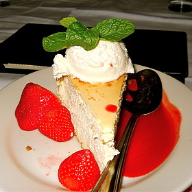 New York Style Cheesecake - Maggiano's - Chevy Chase, Washington, DC