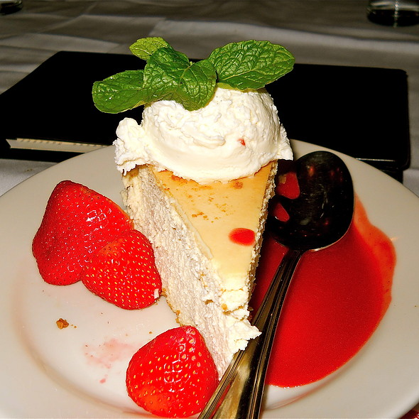 New York Style Cheesecake - Maggiano's - Chevy Chase, Washington, DC