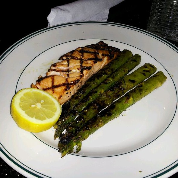 Simply Grilled Salmon - Daily Grill - Seattle Sheraton, Seattle, WA