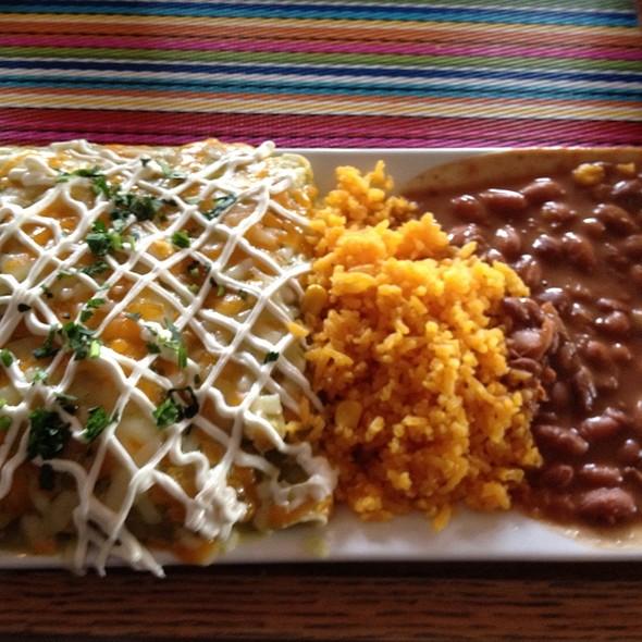 Chicken Enchiladas - La Frontera Mexican Grill, Hackensack, NJ