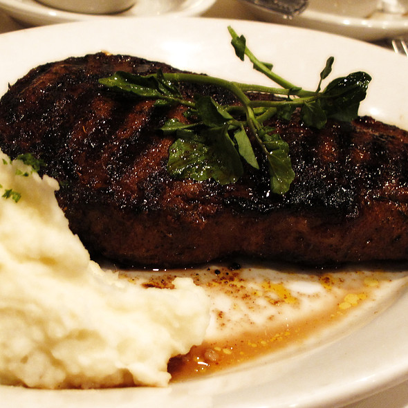 Cajun Ribeye - Morton's The Steakhouse - Great Neck, Great Neck, NY