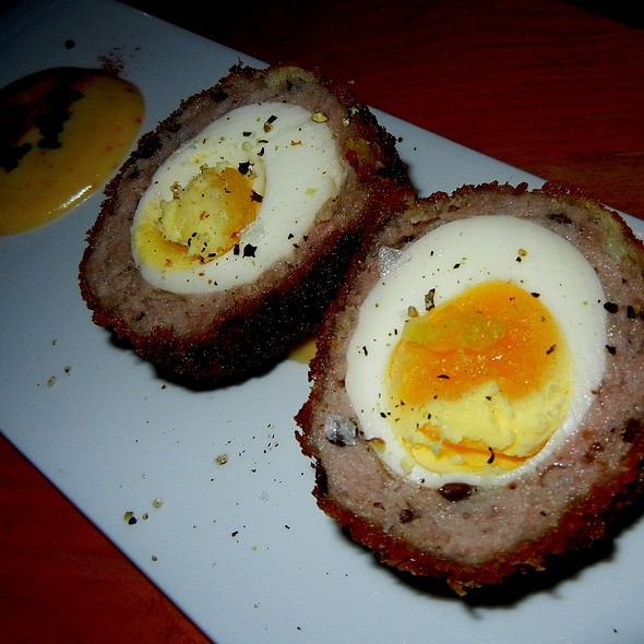 Scotch Egg - Pourhouse Restaurant, Vancouver, BC