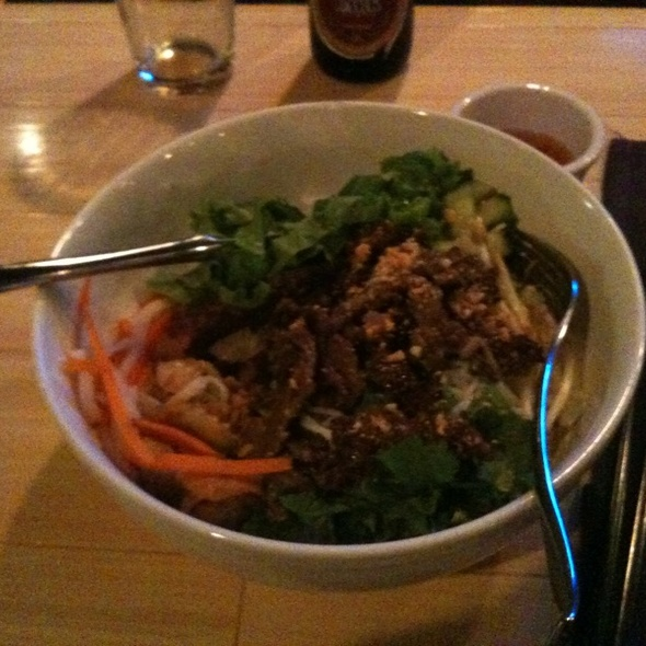 Bun Thit Nuong Beef - Hue Vietnamese Restaurant - Bay View, Milwaukee, WI