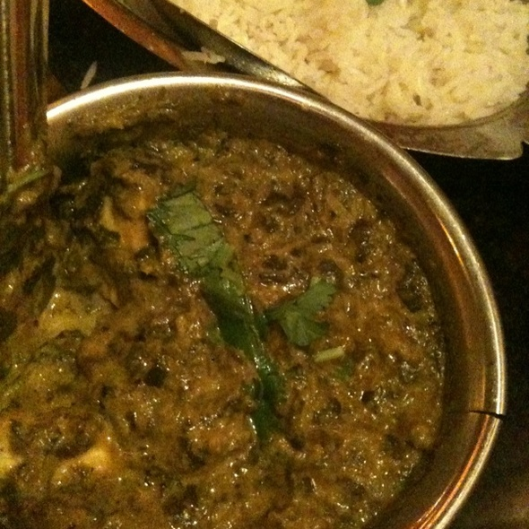 Saag Paneer - Little India Restaurant - 6th Ave, Denver, CO