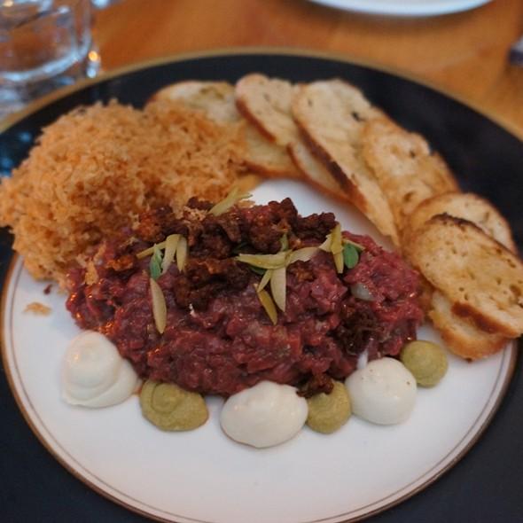Lamb Heart Tartare - Hopgood's Foodliner, Toronto, ON