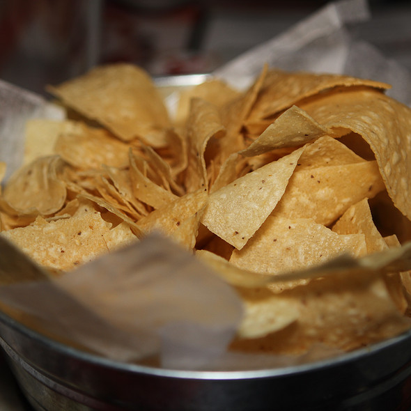 Tortilla Chips - Diablitos Cantina, St. Louis, MO