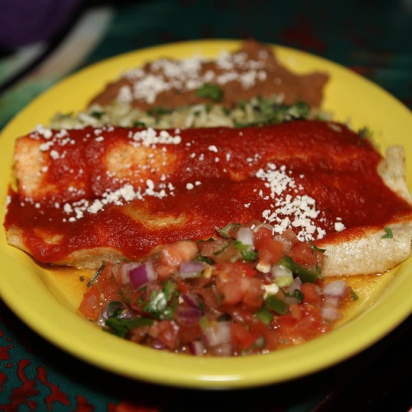 Chicken Enchiladas - Diablitos Cantina, St. Louis, MO