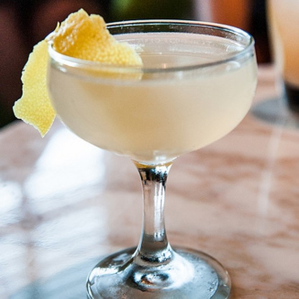 Aviation Cocktail - Spoonbar - h2hotel, Healdsburg, CA