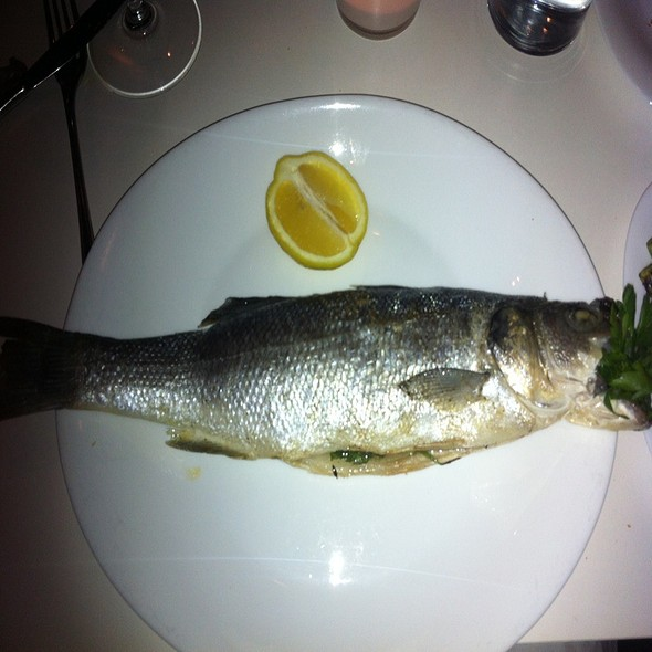 Sea Bass Branzino - Tocco Pizza e Arte, Chicago, IL
