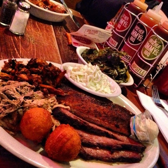 Pig Platter - Brother Jimmy's - Union Square, New York, NY