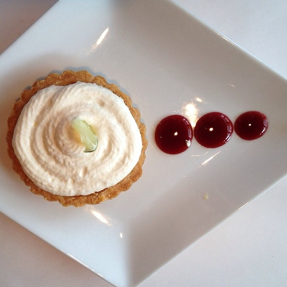 Key Lime Pie Tart - Fish Restaurant & Wine Bar, Marlborough, MA