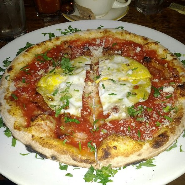 Pork Love Pizza With A Fried Egg Add-on - Covo Trattoria e Pizzeria, New York, NY