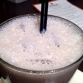 Raspberry Latte Cocktail - Six Penn Kitchen, Pittsburgh, PA