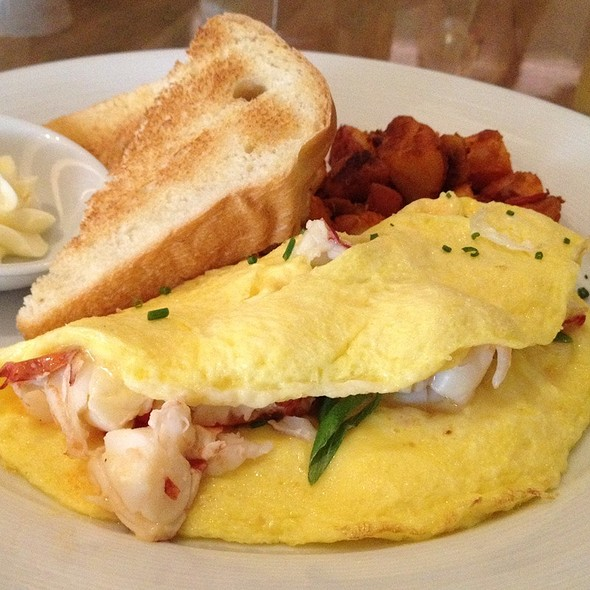 Lobster Omelette - Island Creek Oyster Bar, Boston, MA