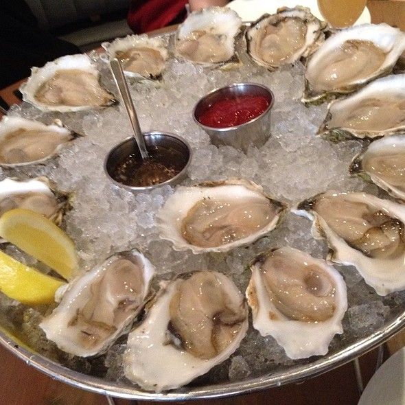 Island Creek And Rocky Nook Oysters - Island Creek Oyster Bar, Boston, MA