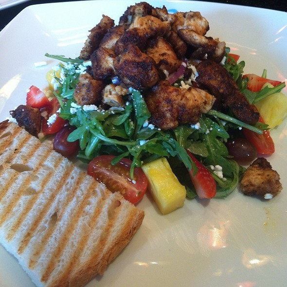 Jerk Chicken Salad - Teca Restaurant & Wine Bar, West Chester, PA
