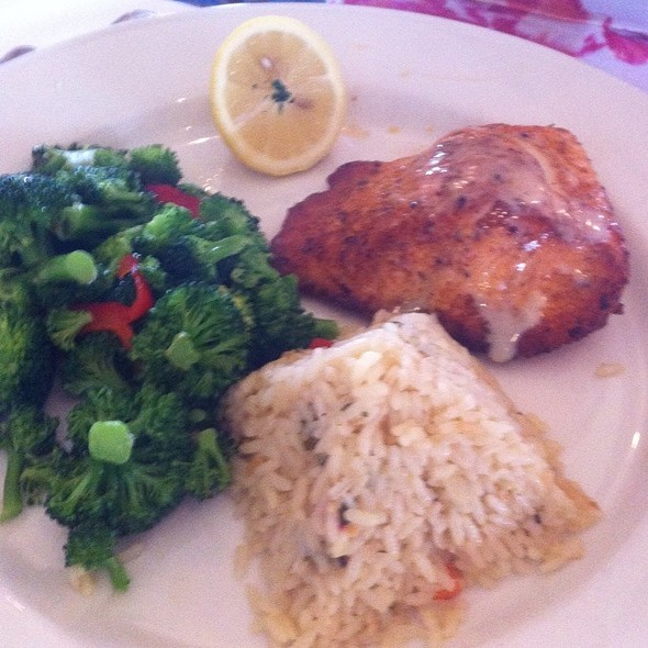 Broiled Salmon - Chart House Restaurant - Melbourne, Melbourne, FL