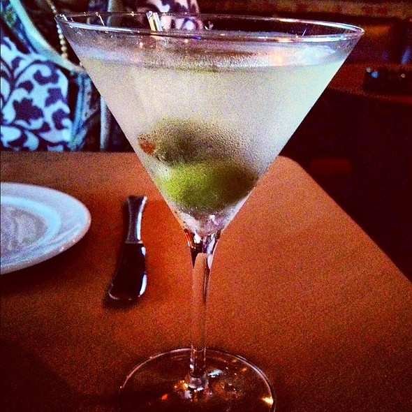 Dirty Gin Martini - LaSalle Grill, South Bend, IN