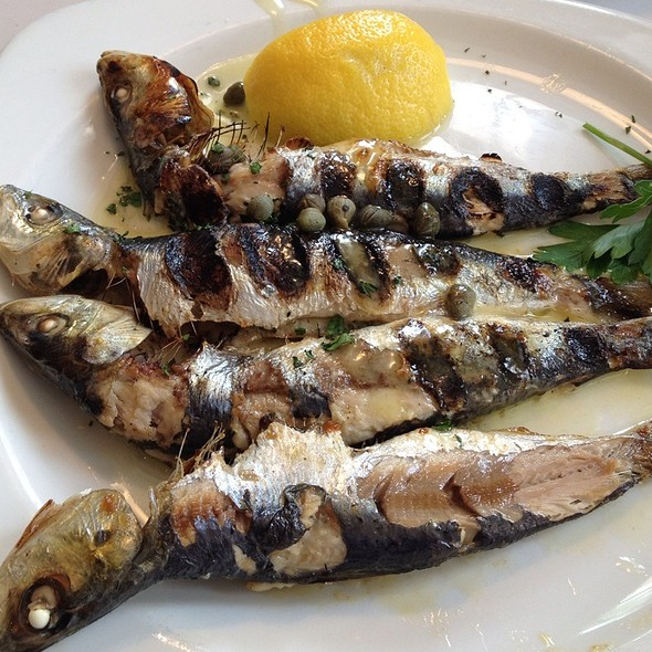 Grilled Sardines - Varka Fishhouse, Ramsey, NJ