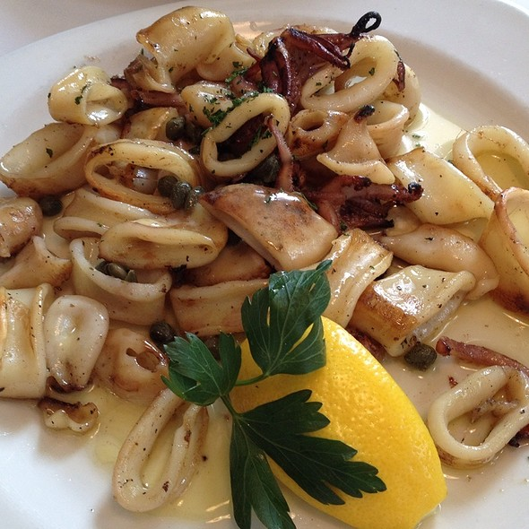 Grilled Squid - Varka Fishhouse, Ramsey, NJ