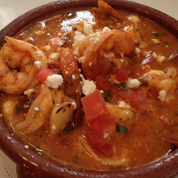 Shrimp Santorini (Shrimp And Feta In Tomato Sauce) - Varka Fishhouse, Ramsey, NJ