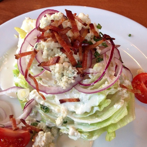 Blue Cheese Wedge Salad - Victory Tavern, Dallas, TX
