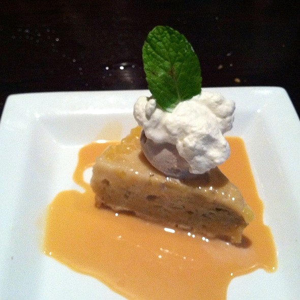 Pineapple Rum Upside Down Cake - Paladar Latin Kitchen & Rum Bar, Cleveland, OH