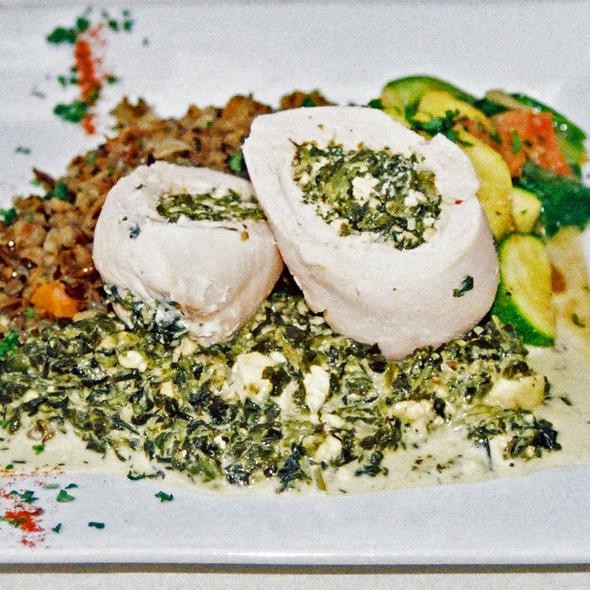 Chicken Athena - Cafe Soriah, Eugene, OR