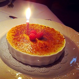Creme Brulee - The Refectory Restaurant & Bistro, Columbus, OH