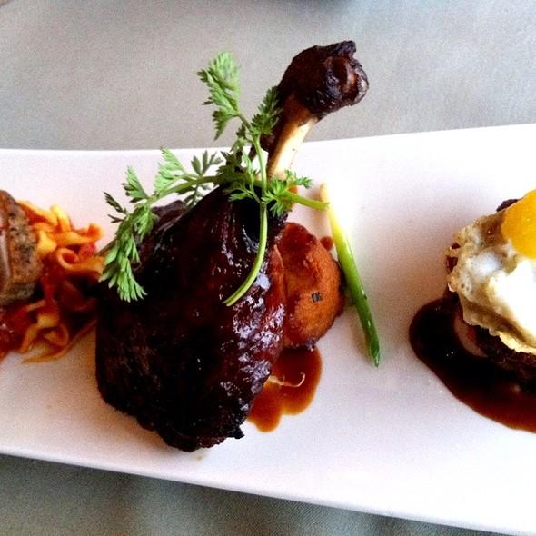 Duck Three Ways - The Shores Restaurant - La Jolla Shores Hotel, San Diego, CA