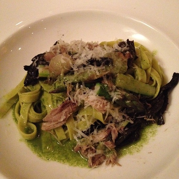 Braised Rabbit Fettuccine - Equinox - DC, Washington, DC