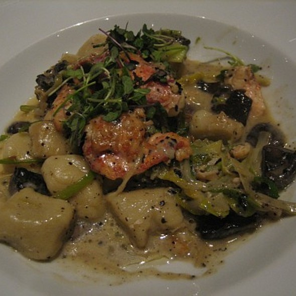Potato Gnocchi With Lobster - FiAMMA Italian Kitchen - MGM Grand, Las Vegas, NV