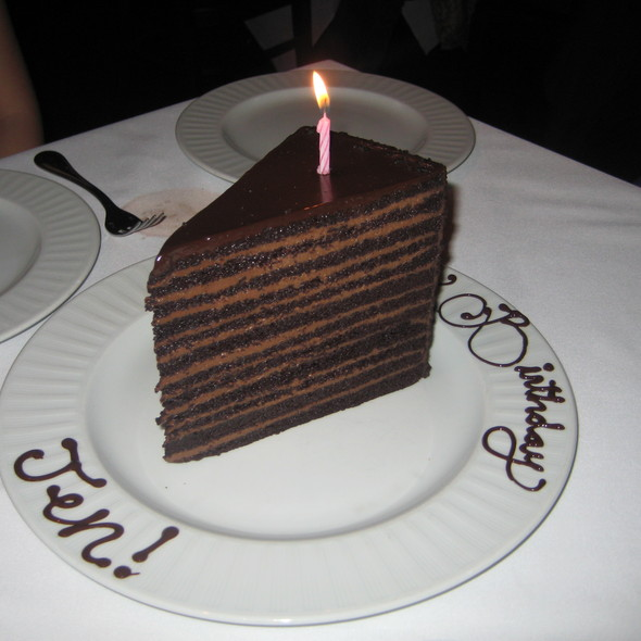 Chocolate Cake - Strip House - Las Vegas, Las Vegas, NV