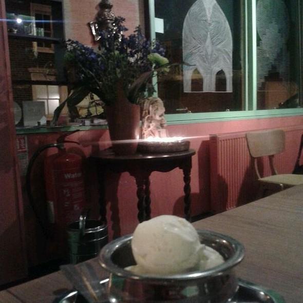 Cardamon And White Chocolate Ice-Cream  - Ganapati Restaurant, London