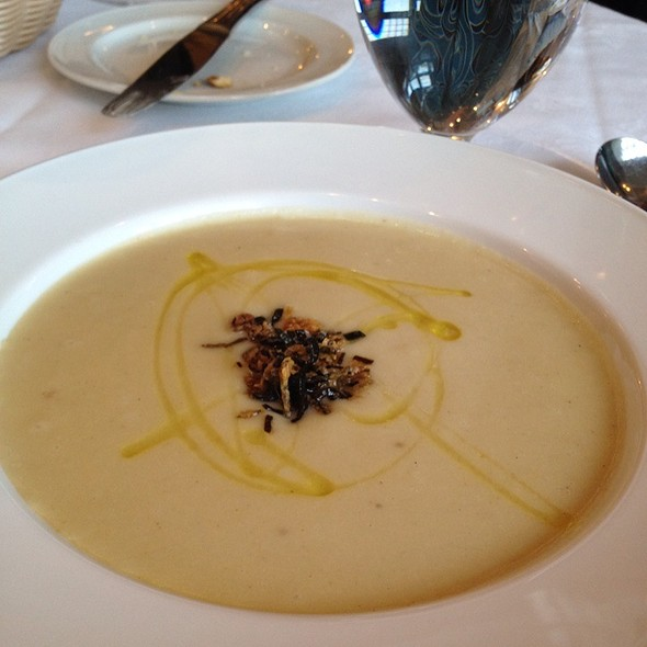 Potato And Leek Soup - Hart House Restaurant, Burnaby, BC
