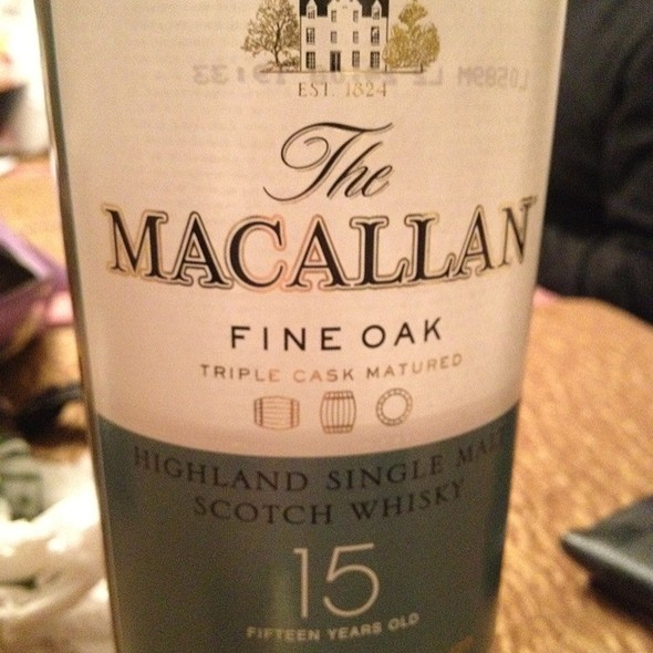 Macallan 15 - Agave Cocina & Tequilas, Issaquah, WA