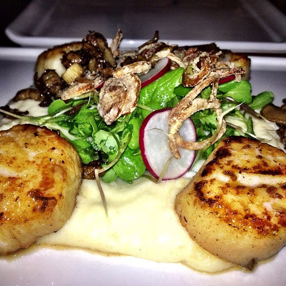 Scallops - The Admiral, Asheville, NC