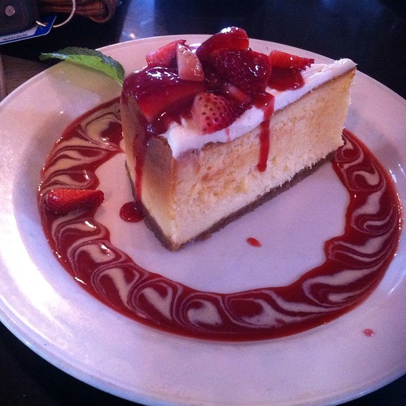 Strawberry Cheesecake - La Griglia - Houston, Houston, TX