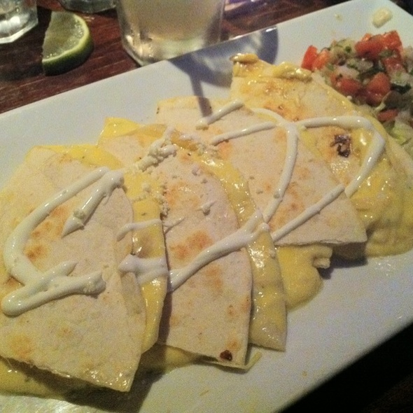 Cheese Quesadilla - Arriba Arriba Mexican Restaurant - Queens, Sunnyside, NY