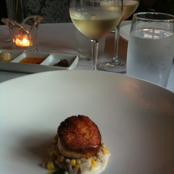 Scallops - Noble Fare, Savannah, GA