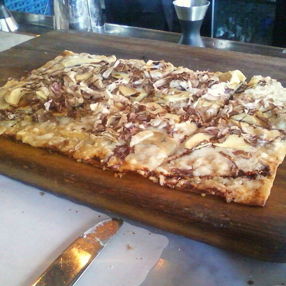 Artichoke Flatbread - Church & State, Los Angeles, CA