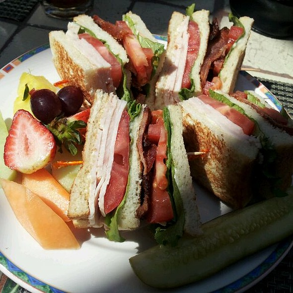 Club Sandwich - Mission Inn Restaurant, Riverside, CA