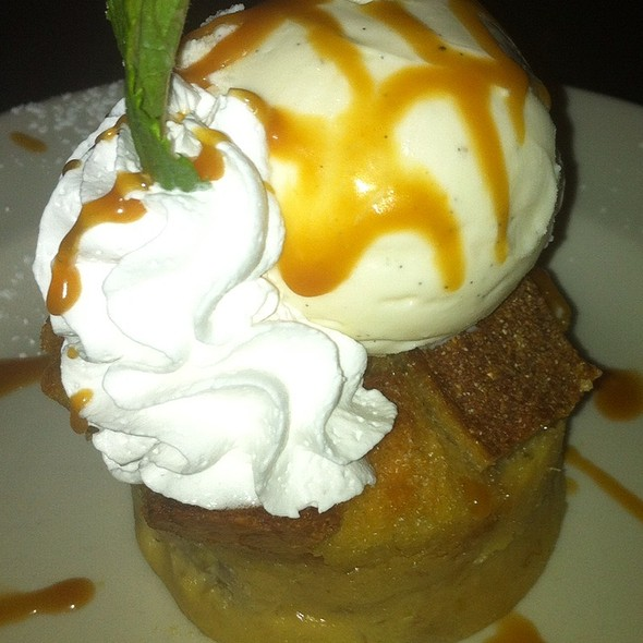 Bananas Foster Bread Pudding - Sullivan's Steakhouse - King of Prussia, King of Prussia, PA