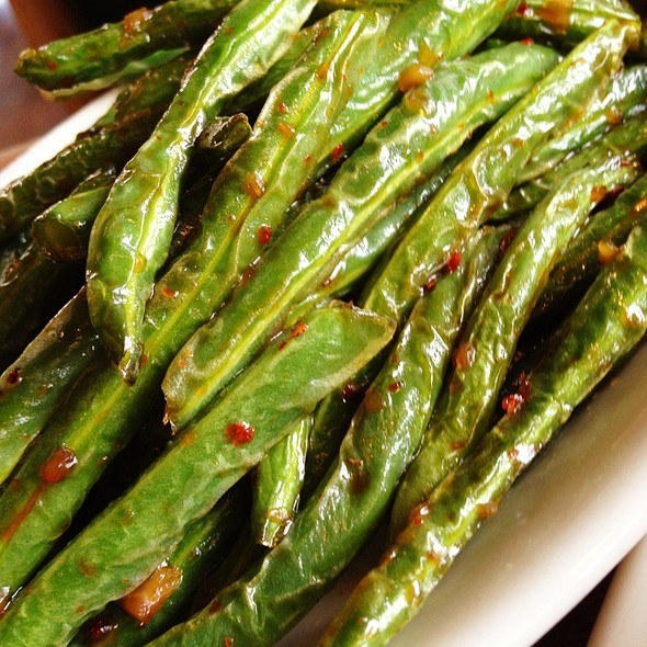 Sichuan Green Beans (Spicy) - Wild Ginger - Bellevue, Bellevue, WA